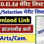 Bihar DElEd Final Merit List 2020