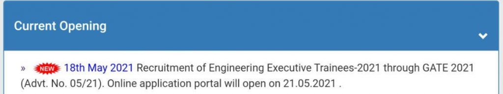 NTPC Limited Recruitment 2021 Online Apply