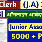 SBI Junior Associates Clerk 2021