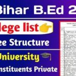 Bihar BEd Admission Counselling 2021